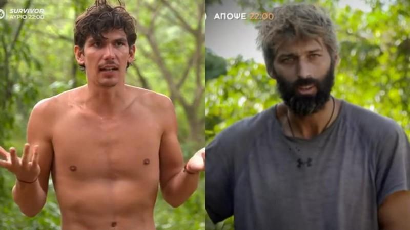 Survivor 4: Συνεχίστηκε ο τσακωμός Αλέξη - Παύλου και πίσω από τις κάμερες
