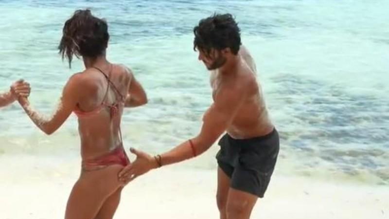 Survivor 4: Ο Ασημακόπουλος χούφτωσε την Καρολίνα!