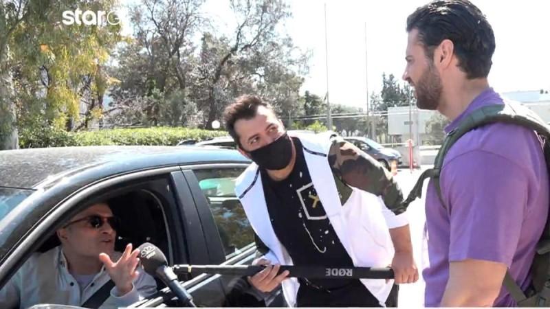 Σταματόπουλος για Βασάλο: «Όταν μου έκανε τη χειρονομία εκνευρίστηκα, δεν μου το έχει κάνει κανένας».
