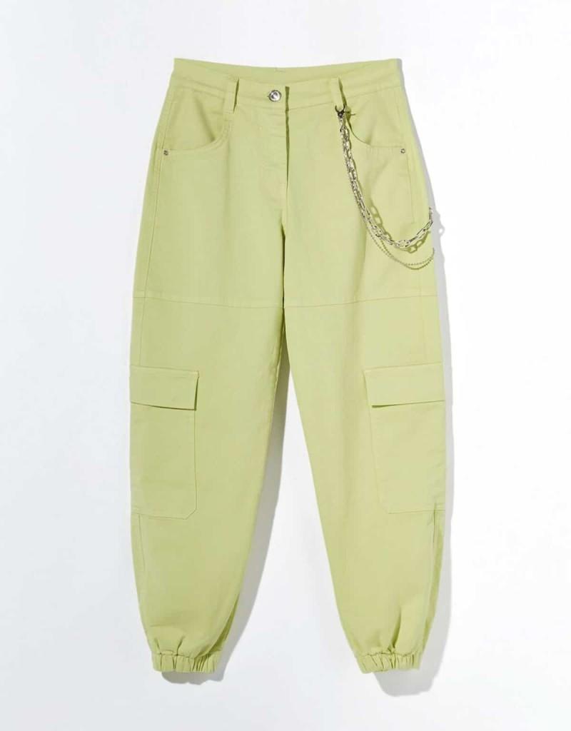 πράσινο cargo παντελόνι
