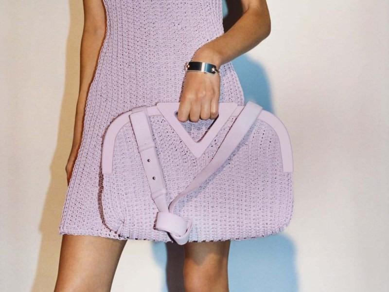 Πλεκτή τσάντα Bottega Veneta
