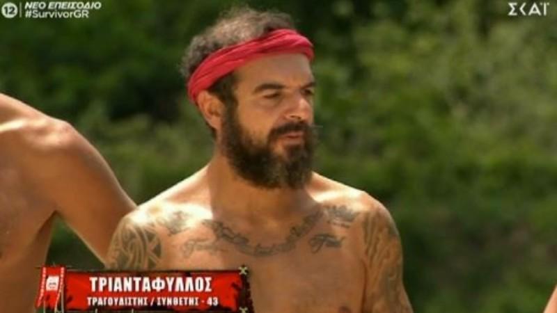 Survivor 4: Ο Τριαντάφυλλος έκανε έκκληση στους τηλεθεατές να μην τον στηρίξουν!