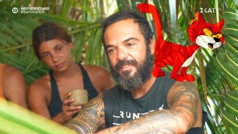 Survivor 4 - Ασημακόπουλος: «Ο Αλέξης Παππάς είναι ο Δρακουμέλ και ο Ντάφυ η ψιψινέλ»