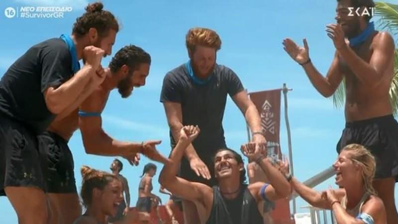 Survivor 4: Νικήτρια η Μπλε ομάδα στον αγώνα επάθλου επικοινωνίας