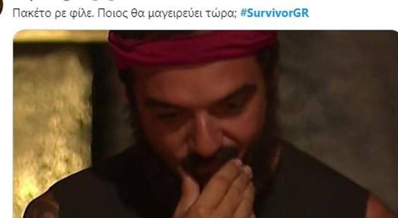 Survivor 4 tweets χθεσινό 14/4 επεισόδιο