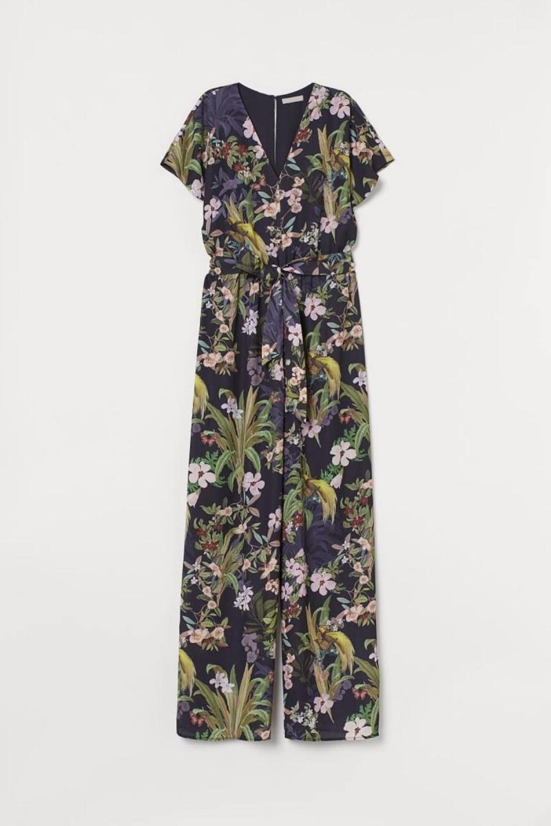 φλοράλ ολόσωμη φόρμα