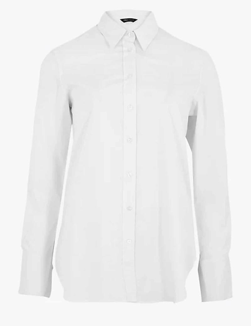 λευκό πουκάμισο κλασικό