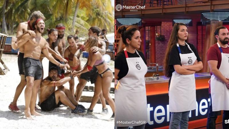 Survivor 4 τηλεθέαση 6/4: Έχασε την πρώτη θέση από το MasterChef