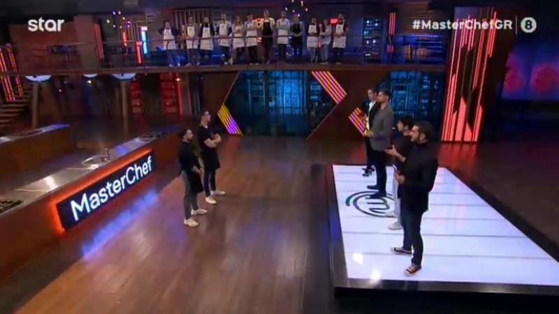 Masterchef 5 αποχώρησε ο Αντώνης Μητρόπουλος και επέστρεψε ο Νίκος Σκορδάκης