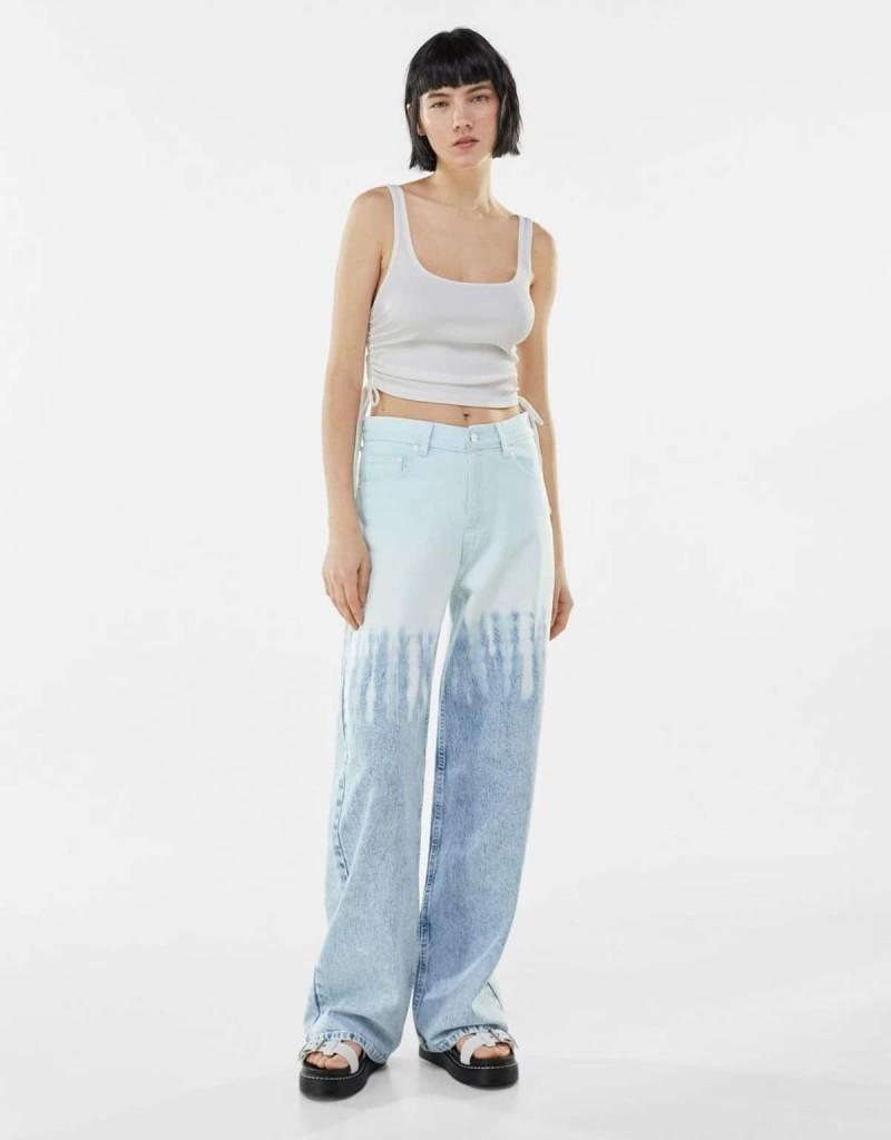 tie-dye τζιν παντελόνι