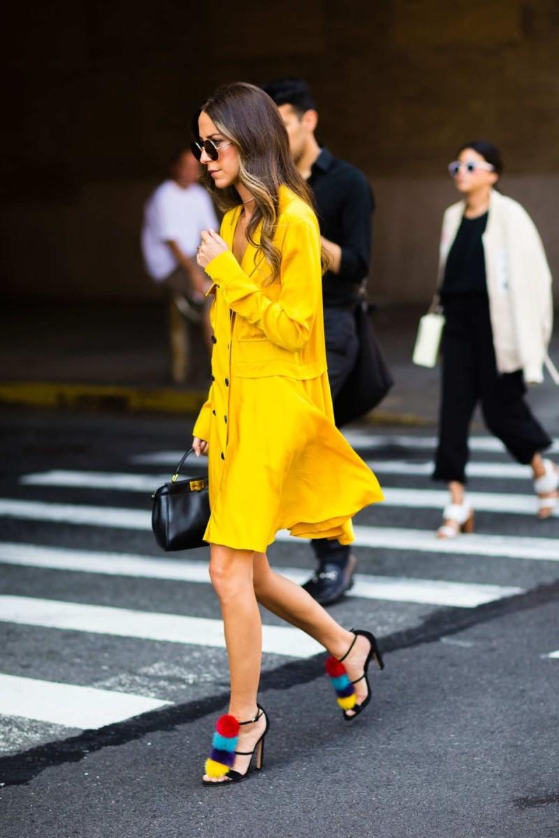 κίτρινο shirt dress