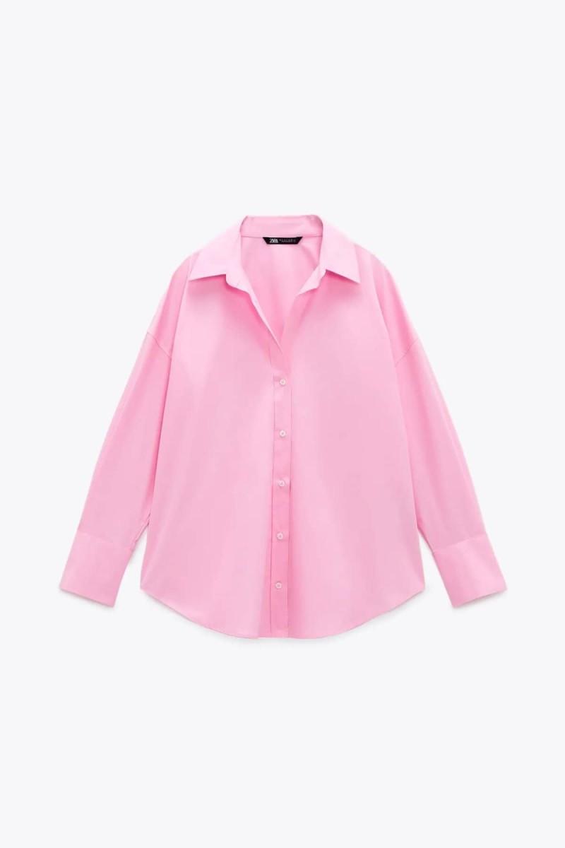 ροζ πουκάμισο