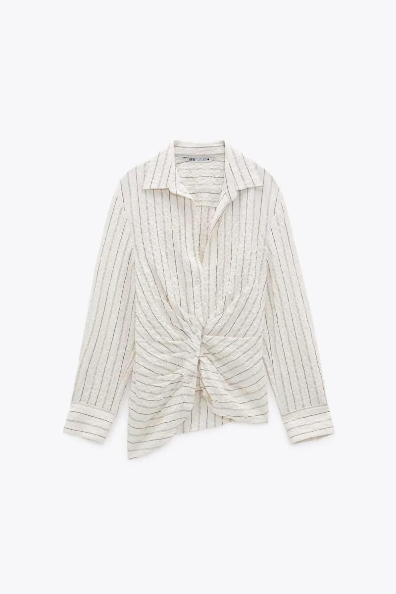 μπλούζα με ρίγες Zara