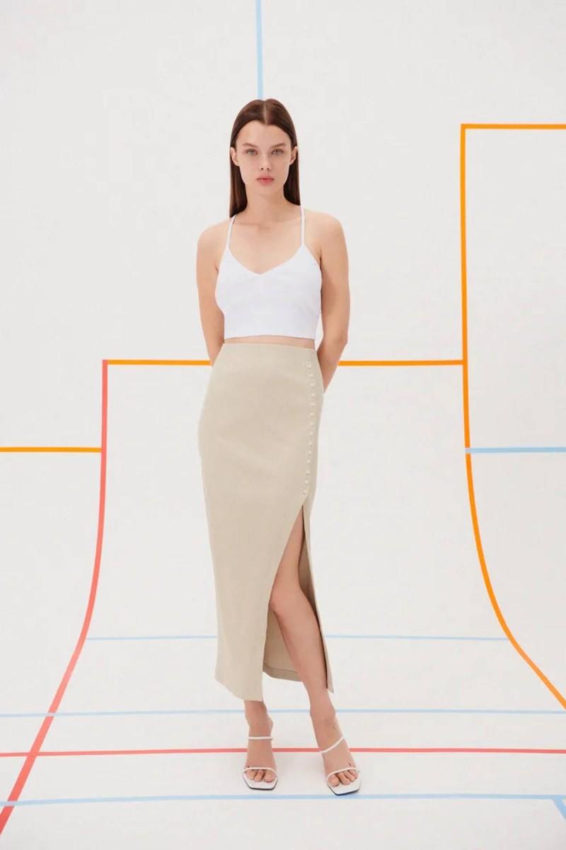 πλεκτή φούστα