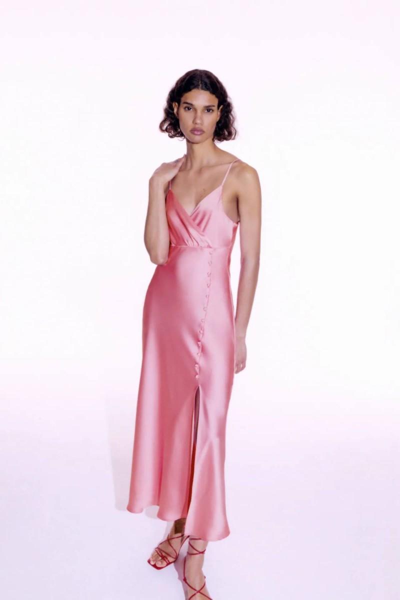 σατέν lingerie dress
