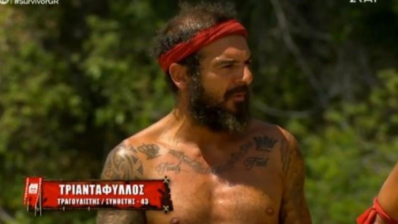 Survivor 4: Πάλι δεν θα παίξει ο Τριαντάφυλλος στο αγώνισμα