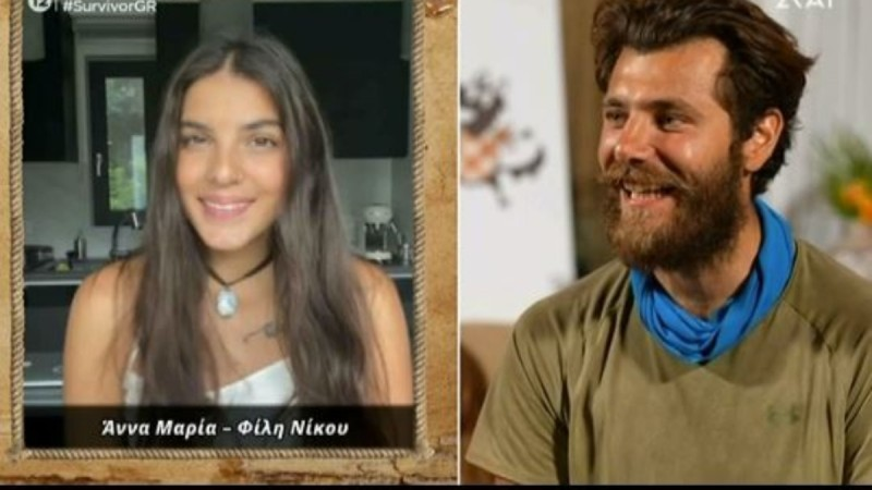 Survivor 4: Η Άννα Μαρία Βέλλη έστειλε βίντεο στον Νίκο Μπάρτζη!