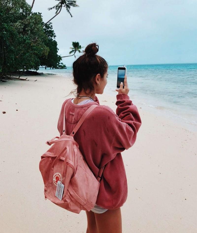 back pack ροζ