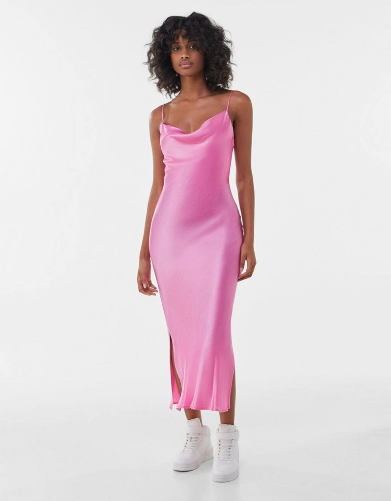 lingerie dress φούξια