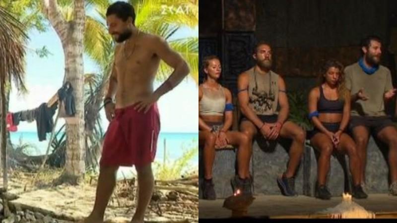 Survivor 4/5 highlights: Το ερωτικό καυγαδάκι Σάκη - Μαριαλένας και οι υποψήφιοι προς αποχώρηση