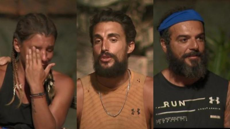 Survivor 4: Τριαντάφυλλος και Σάκης υποψήφιοι προς αποχώρηση