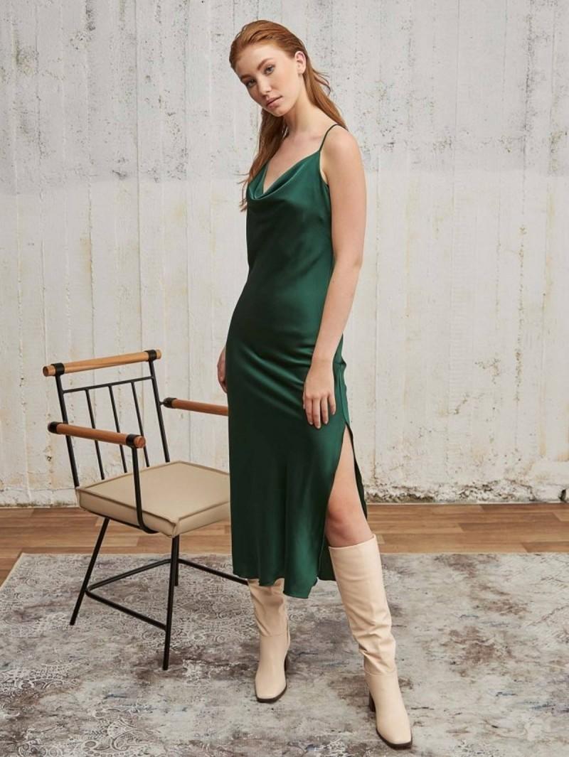lingerie dress πράσινο