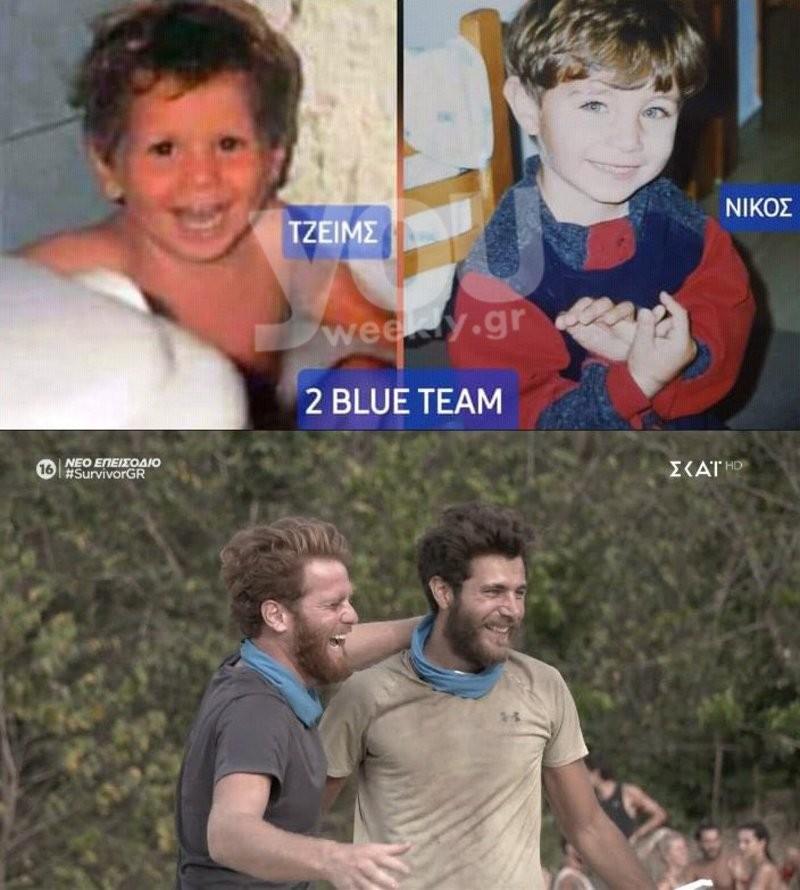Survivor 4 Τζέιμς Νίκος παιδικές φωτογραφίες
