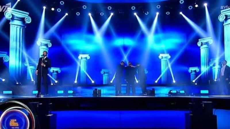 YFSF: O Λούκας Γιώρκας έβαλε φωτιά από Eurovision στη σκηνή