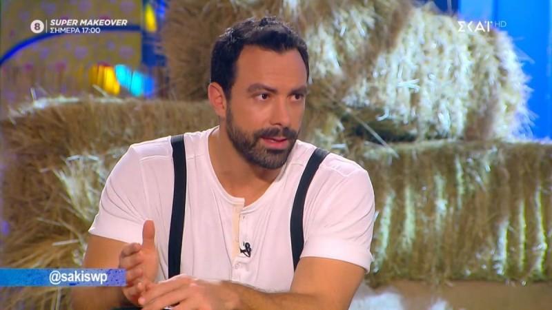Σάκης Τανιμανίδης: «Το πιο δύσκολο ήταν να σταματήσω το Survivor»