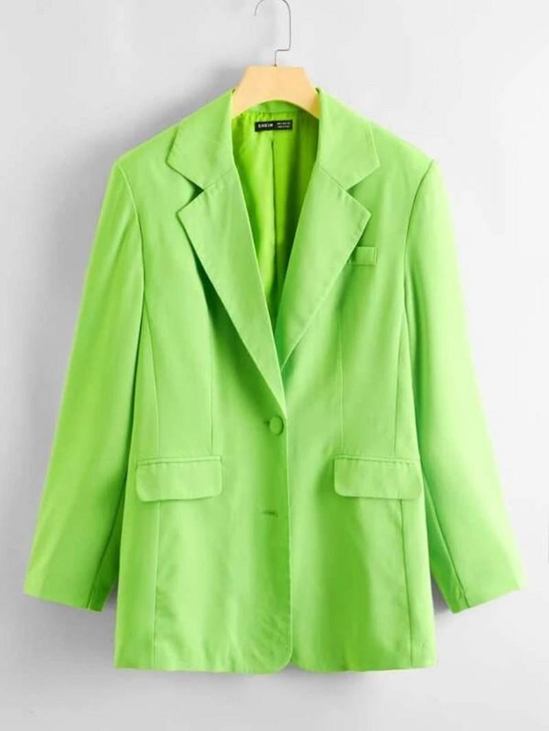 neon σακάκι