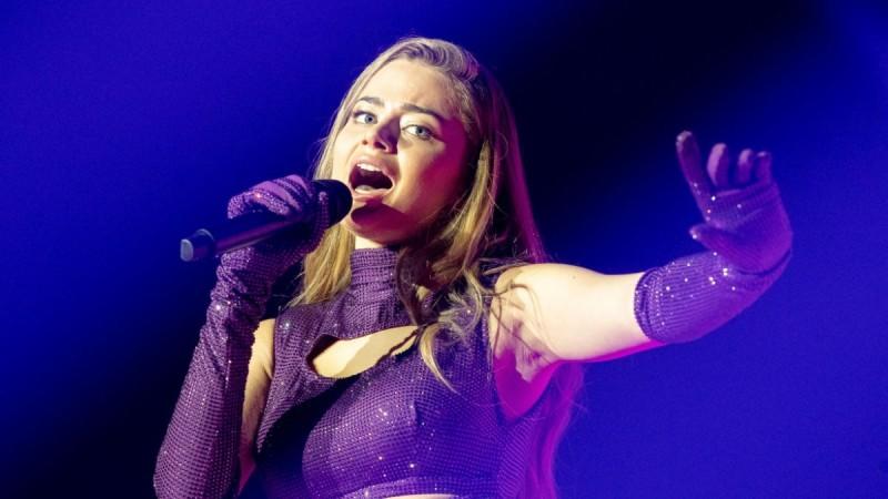 Στεφανία Λυμπερακάκη: Έκανε πάταγο με την πρώτη της πρόβα στην Eurovision