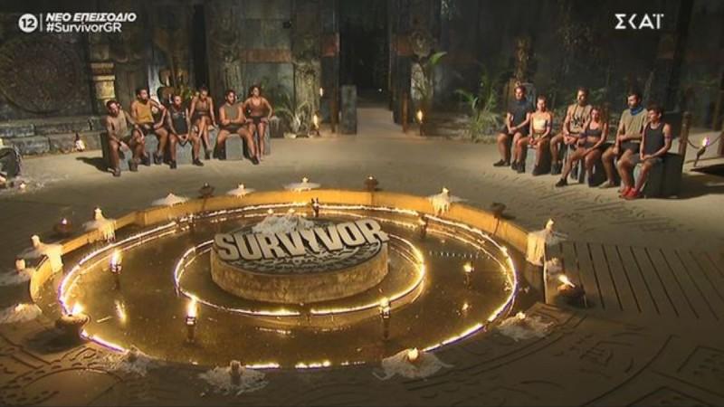 Survivor 4: Χαμός και πάλι στο συμβούλιο με τους Μπλε! Τα έβαλαν ξανά με Τζέιμς και Νίκο!