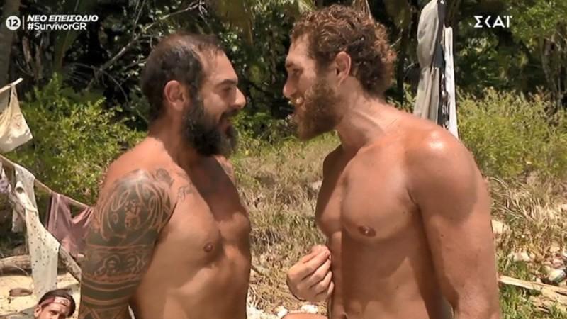Survivor 4 - Ντάφι σε Κόρο: «Νομίζεις σε φοβάμαι επειδή είσαι 10 κιλά παραπάνω;»