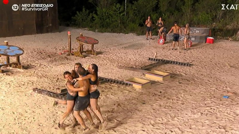 Survivor 4: Νικητές οι μπλε