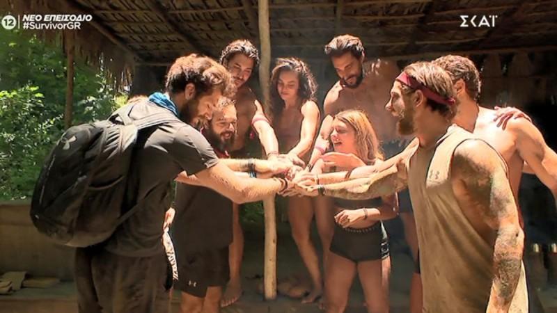 Survivor 4: Ο Νίκος Μπάρτζης αποχαιρέτησε τους συμπαίκτες του