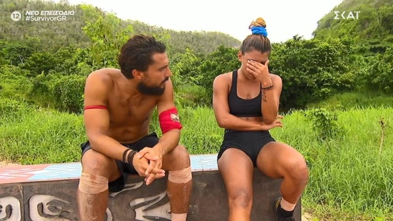 Survivor 4: Ξέσπασε σε κλάματα η Μαριαλένα όταν έχασε στο αγώνισμα