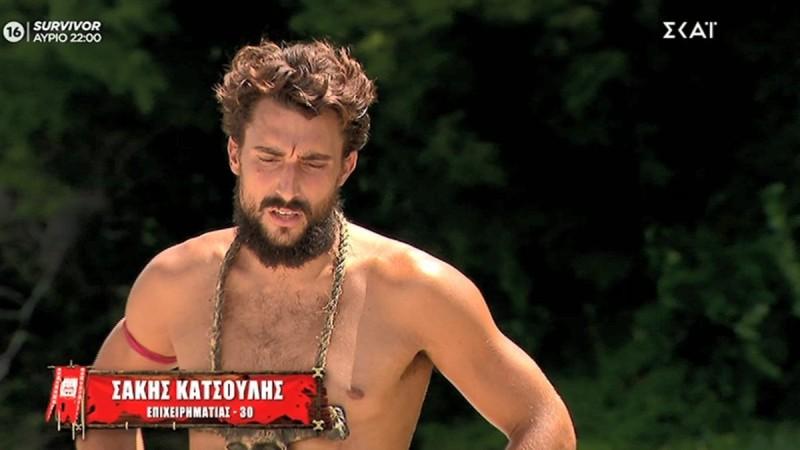 Survivor 4: Ο Σάκης Κατσούλης πήρε και πάλι την ασυλία