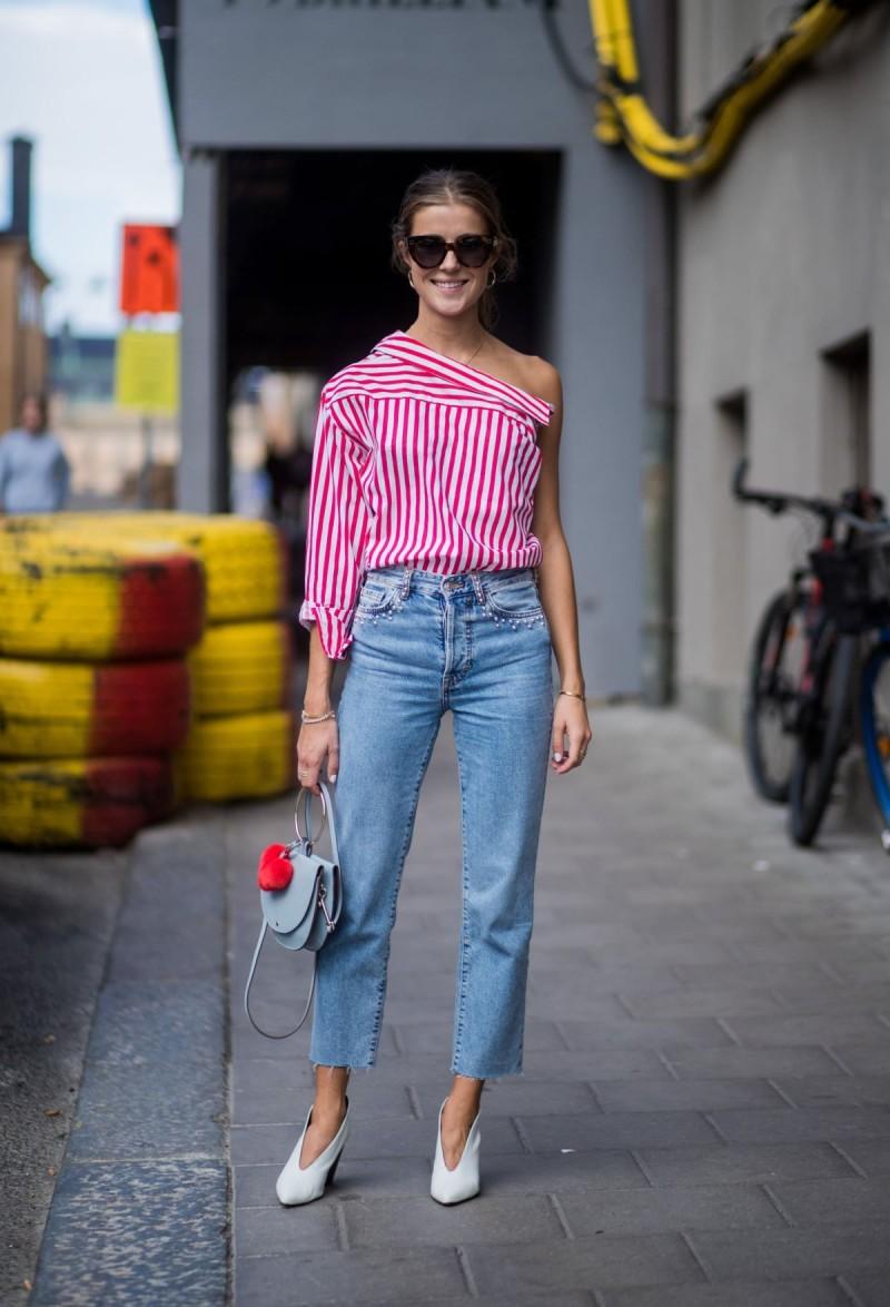 ασύμμετρη μπλούζα