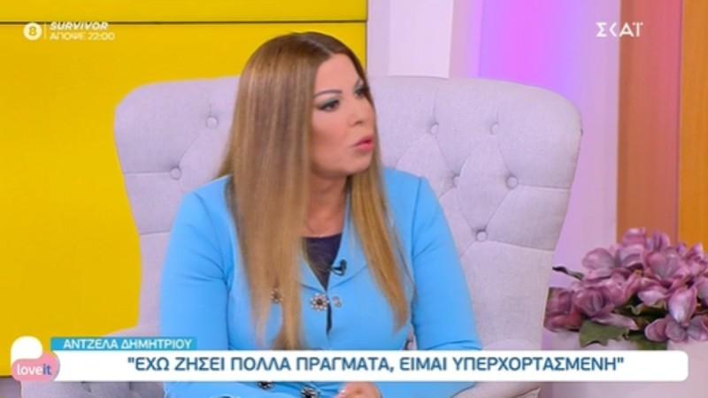 Άντζελα Δημητρίου: Η επική απάντηση της όταν η Μαλέσκου την ρώτησε αν μπορεί να της μιλά στον ενικό