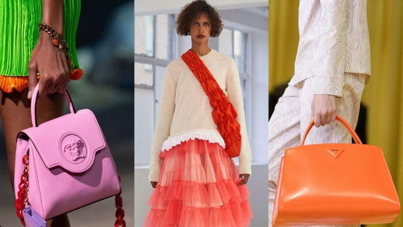 Πολύχρωμες τσάντες