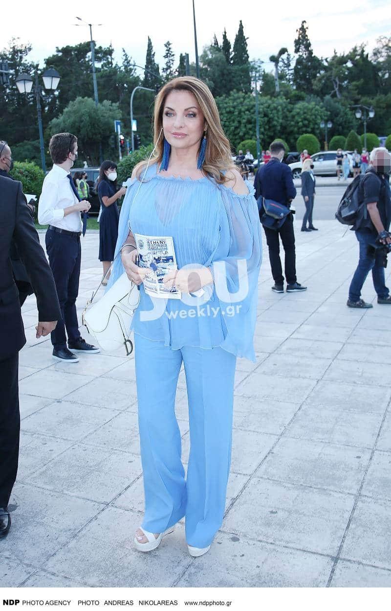 Dior Celebrates Greece Άντζελα Γκερέκου