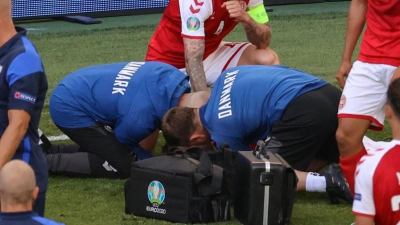 Euro 2021: Κατέρρευσε ο Κρίστιαν Έρικσεν στην διάρκεια του αγώνα