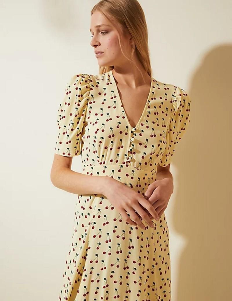 φόρεμα με κεράσια marks&spencer