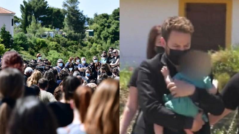 Γλυκά Νερά: Η κίνηση του Μπάμπη στην κηδεία της Κάρολαϊν που πρόδωσε την ενοχή του