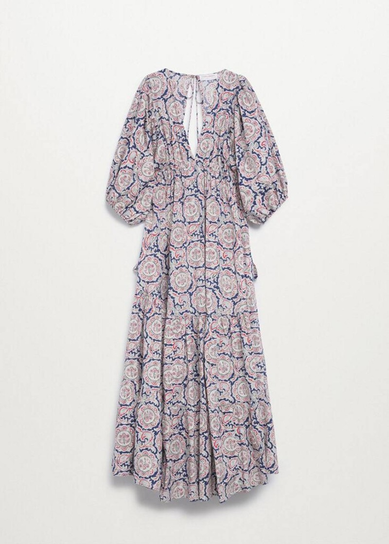 floral φόρεμα Mango