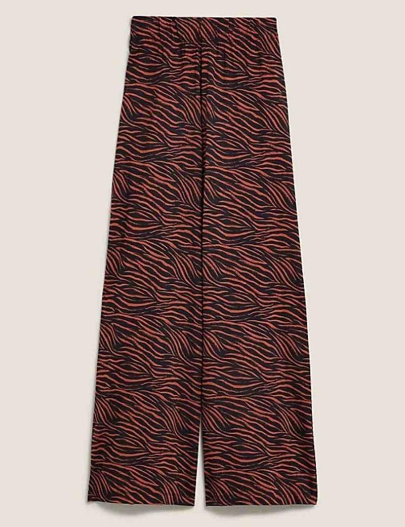 animal prints party pants