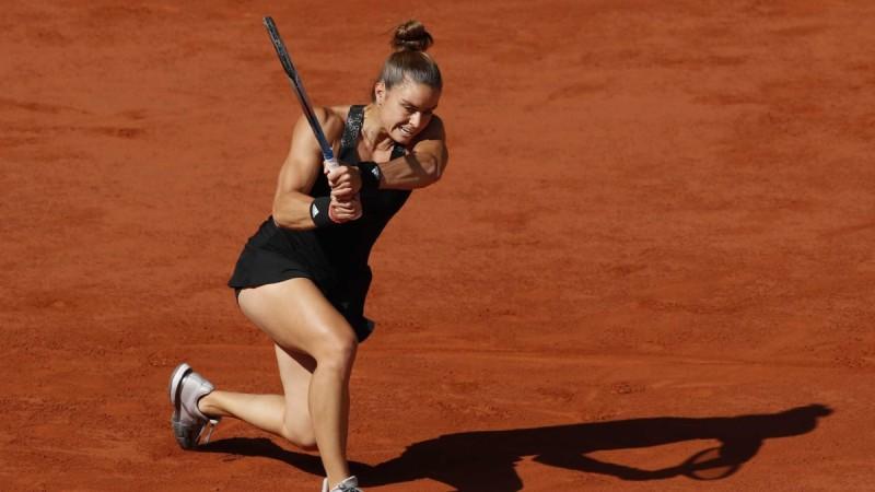 Πάλεψε αλλά ηττήθηκε στον ημιτελικό του Roland Garros η Μαρία Σάκκαρη
