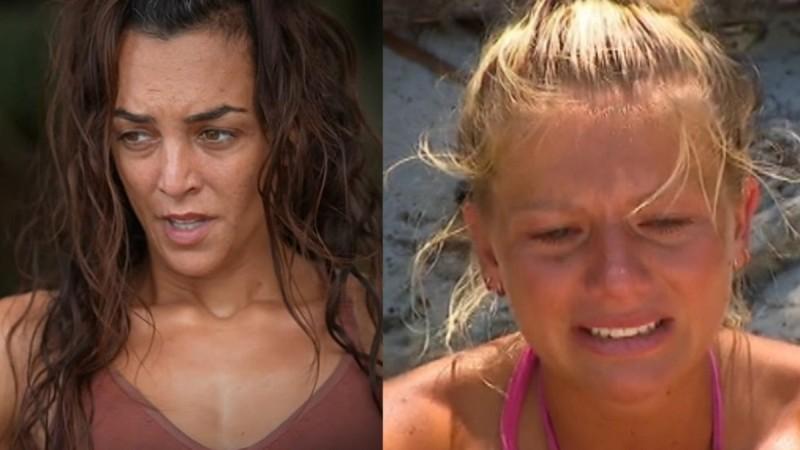 Survivor 4 - twitter: Καλύβα και Χαμπέρη βγήκαν στον τάκο και έγινε χαμός - «Καρολίνα φύγεεεε»