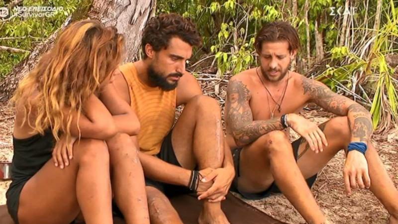 Survivor 4: Ξεκαθάρισμα λογαριασμών μεταξύ Ηλία - Σάκη - Μαριαλένα