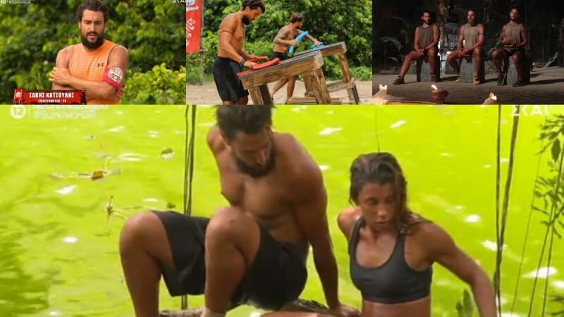Survivor 4 highlights 21/6: Ο Κόρο έριξε στον τάκο τον Σάκη!